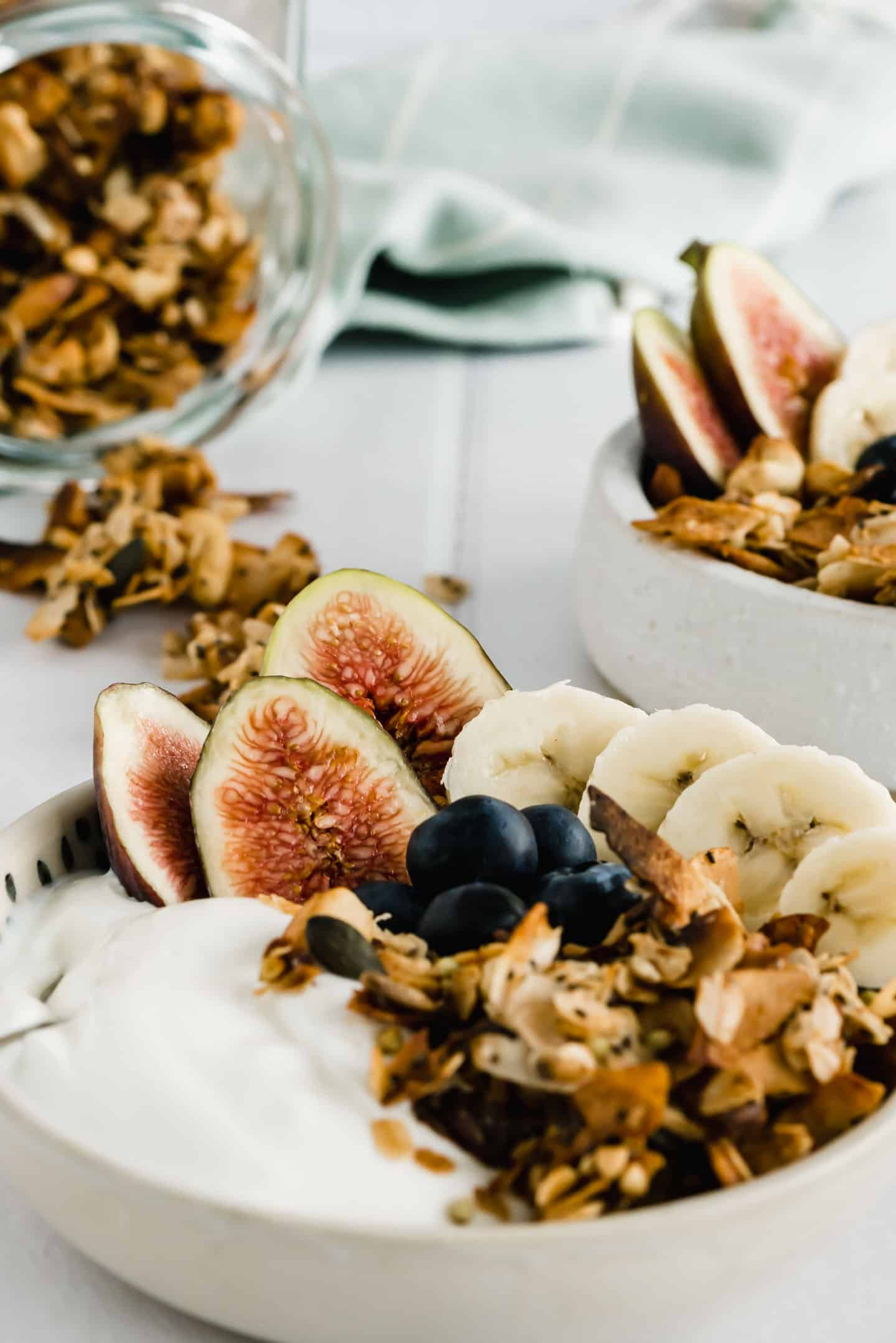 Homemade Granola Breakfast Bowl