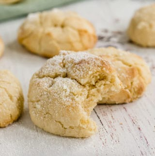 If you are into lemon, you'll love these made-from-scratch Lemon Crinkle Cookies. Chewy on the inside with slightly crispy edges that melt in your mouth.