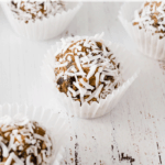 Boozy Truffles with Dulce de Leche, Chocolate, Walnuts and Coconut